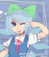 cirno by sailorkarasu