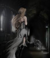 Wolf's Angel by AerisGainsley