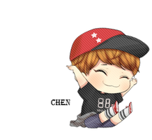 EXO Chen Chibi PNG by SooyoungLover