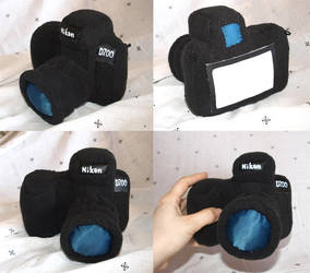 Plush Nikon D700 by Victoria-Poloniae