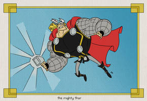 The (extremely)  Mighty Thor by tyrannus