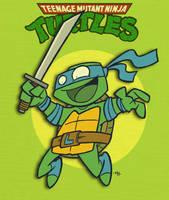 Leonardo Leads by tyrannus