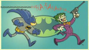 nanananananana-BATman by tyrannus