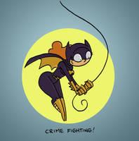 Batgirl Babs by tyrannus