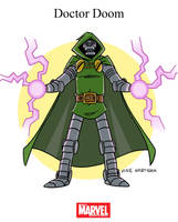 Mighty Marvel Month of March - Doctor Doom by tyrannus