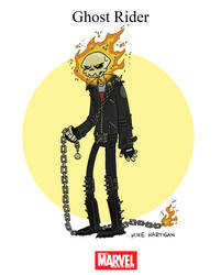 Mighty Marvel Month of March - Ghost Rider by tyrannus