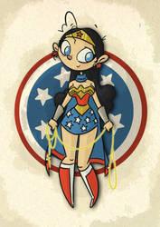 Wonder Woman by tyrannus