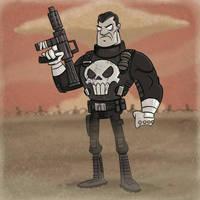 The Punisher by tyrannus