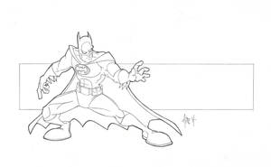 Batman by tyrannus