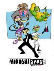 The H-Smash Cast by tyrannus