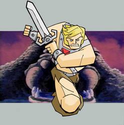 He-Man by tyrannus