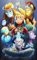 Fellowship of the Legends by Luximus17