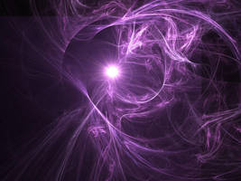 purple galaxy by Joy-Kelberwitz