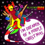 12 Days of Clarktoons   Purple Christmas by CK-was-HERE