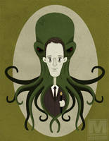 H. P. Lovecraft by MeghanMurphy