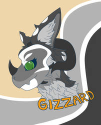 Gizzard Badge by Fyreace