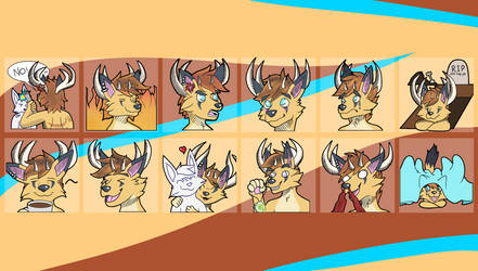 Commission: Telegram Stickers Emerson Vosal by Fyreace