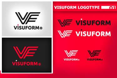 Visuform Logotype by zero4u