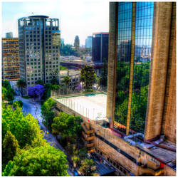Reflections on Santiago by zois-life