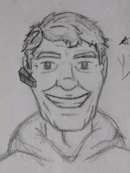 Dad rough sketch by LucidArtist83