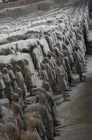 Terracotta Army Xi'an China by LucidArtist83