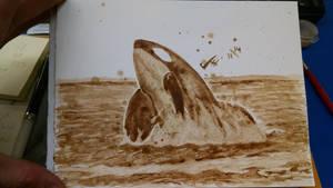 Killer Orca Whale by LucidArtist83