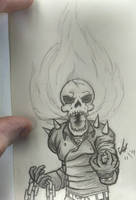 The Ghost Rider by LucidArtist83