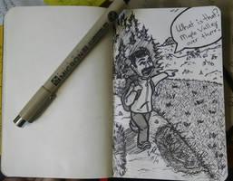 Overheard while hiking by LucidArtist83