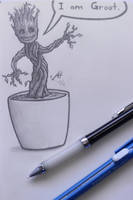 I am Groot by LucidArtist83