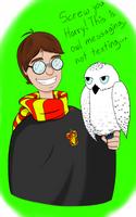 Owl Messaging by LucidArtist83