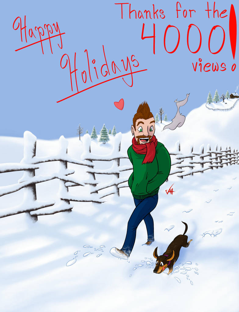 Happy Holidays!!! by LucidArtist83