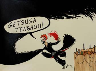 Getsuga Tenshou by LucidArtist83