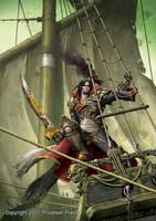 Captain Shae by andreauderzo