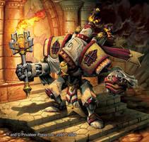 Templar by andreauderzo