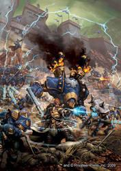 Cygnar Army by andreauderzo