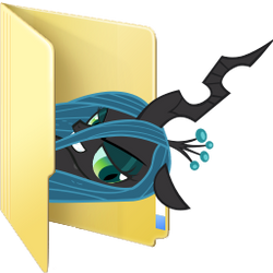 Custom Chrysalis folder icon by Blues27Xx