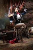 Zatanna, A Magic Trick by jaytablante