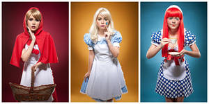 Three Little Girls by jaytablante