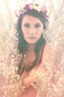 Larah and Flowers 2 by jaytablante