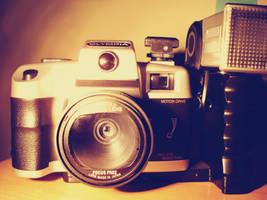old camera V by MaithaNeyadi