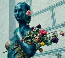 roses by MaithaNeyadi