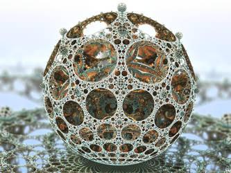Filigree Sphere by ellarien