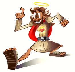 El Tigre style Jesus by BB-K
