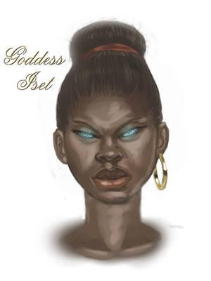 Iset Goddess of Magic by cardboardmemory