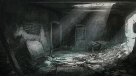 Wrecked place by Schkabb