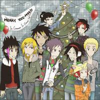 The Christmas Scene by ZiGGYxCORE