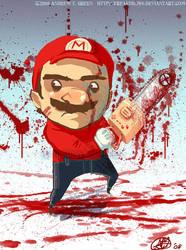 Massacre Mario by DrewGreen