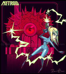 METROID - Red Alert by DrewGreen