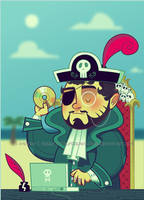Jaime the Pirate by DrewGreen