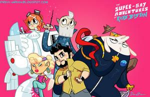 The Bobslist Adventure Team by DrewGreen